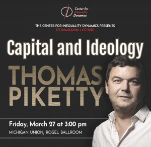 Thomas Piketty - Center for Inequality Inaugural Lecture