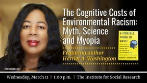 Harriet A. Washington - Cognitive Costs of Environmental Racism