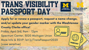 Trans Visibility Passport Day